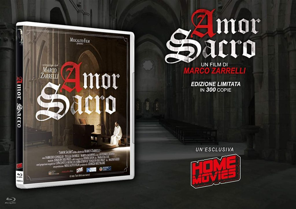 Amor Sacro in Blu-Ray